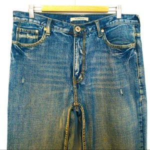 Flypaper Men Size  34X34 Jeans Embroidered Pockets